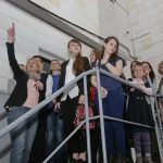 Первым пунктом программы визита в редакцию газеты стало посещение цехов производственного-издательского комплекса «Офсет»