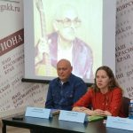 Анна Трапезникова прочитала стихи Булата Окуджавы