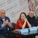 Александр Григоренко прочитал отрывок из повести Константина Воробьева «Убиты под Москвой»