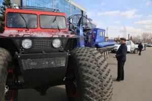 Туристическая выставка «Енисей» в Красноярске. 19 апреля 2018 года