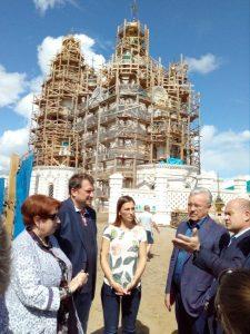 Рабочая поездка врио губернатора в Енисейск. 7 июля 2018 года