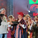 В этом году гран-при музыкального конкурса удостоилась сказительница Софья Брусникина из Архангельска
