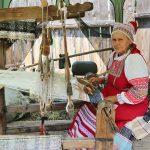 Действующий ткацкий станок в «Городе мастеров»