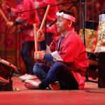 Барабанщик ансамбля «Сансю Асуке дайко»