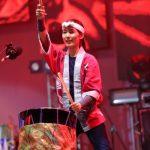 Артисты исполнили композиции на нескольких видах японских барабанов