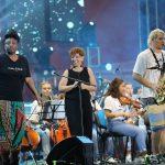 Американка ЛаФрей Ски и молодежный оркестр из красноярских студентов