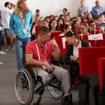 Среди участников форума и люди с ограниченными возможностями
