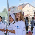 Волонтеры были готовы помочь в любых вопросах и создавали своими улыбками прекрасное настроение