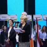 Ольга Голодец зачитала приветствие для участников форума от президента РФ Владимира Путина