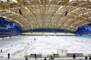 Первый товарищеский матч на стадионе «Енисей». 11 сентября 2018 года