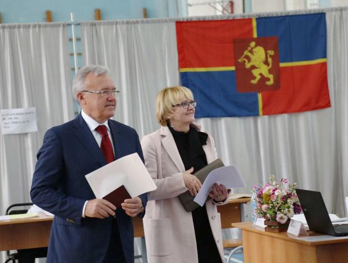 >Инаугурация губернатора Красноярского края состоится 21 сентября