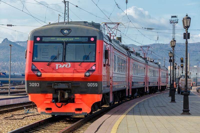 Дополнительные беспересадочные электрички начнут курсировать со станции Красноярск Северный