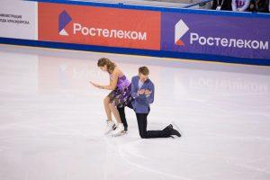 Всероссийские соревнования по фигурному катанию на коньках в Красноярске. 17 октября 2018 года