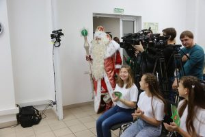 Главный Дед Мороз России в редакции «НКК». 8 ноября 2018 года