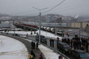 Открытие Николаевского проспекта в Красноярске. 30 ноября 2018 года