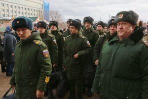 Осенний призыв в Красноярске. 9 ноября 2018 года