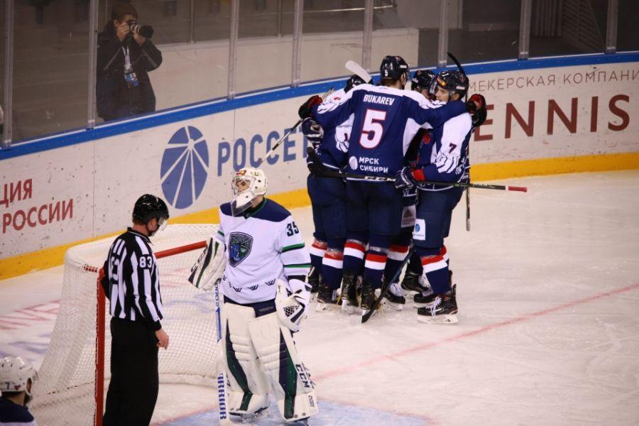 Чемпионат ВХЛ: «Сокол» победил после трех домашних поражений