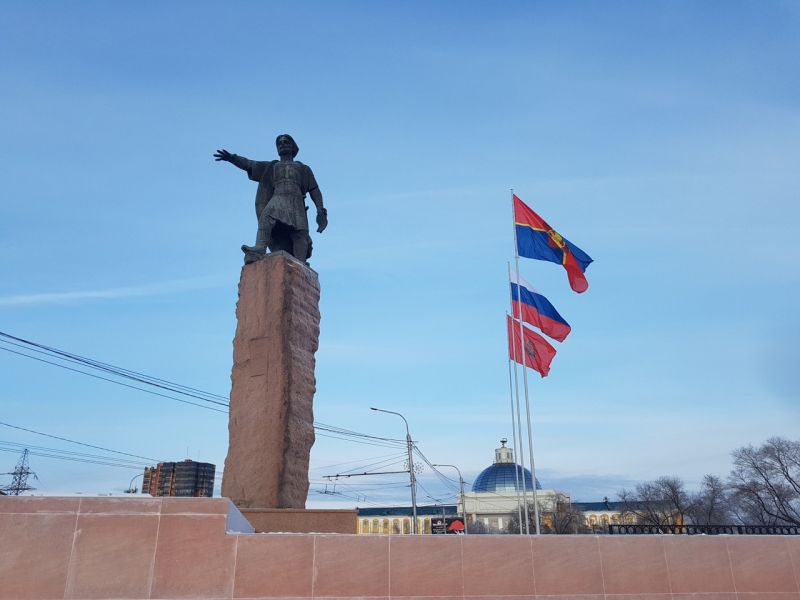 >Флагштоки установили в столице края