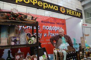 Рождественская ярмарка в Красноярске. 12 декабря 2018 года