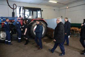 Александр Усс в Уярском сельскохозяйственном техникуме. 16 января 2019 года