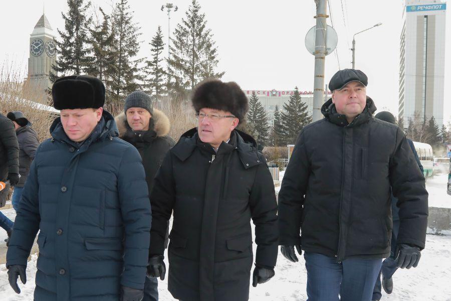 Власти намерены сделать Красноярск одним из красивейших региональных городов страны