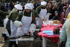 Парад Победы и шествие Бессмертного полка в Красноярске. 9 мая 2019 года