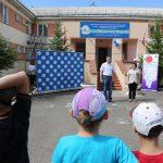 На территории Краевого центра семьи и детей высадили \