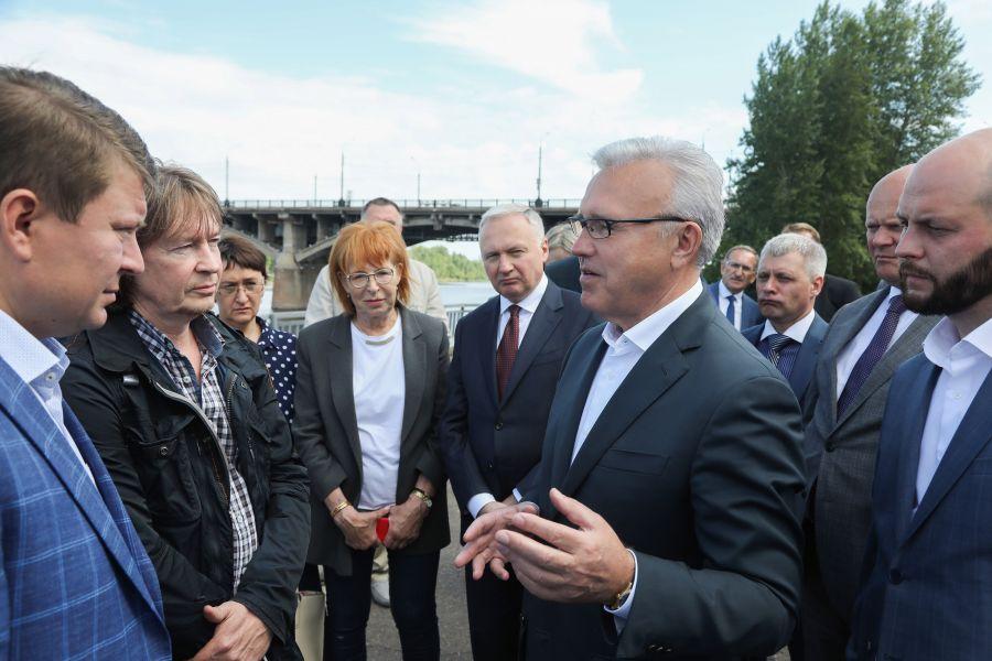 Губернатор Александр Усс назвал новую визитную карточку Красноярска