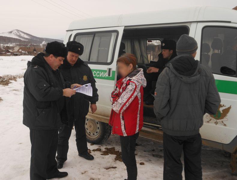Фото предоставлено пресс-службой УФССП России по Красноярскому краю