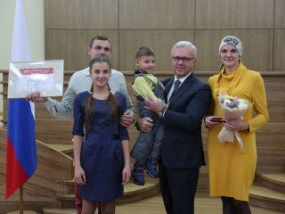 На награждение смогли прийти не все дети Марии и Андрея Анчуговых