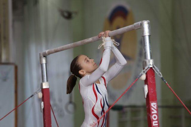 Всероссийские соревнования по спортивной гимнастике памяти Елены Наймушиной. Красноярск. 8 ноября 2019 года