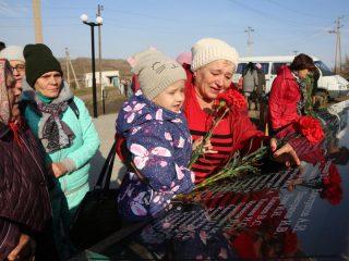 Три поколения жителей Вознесенки