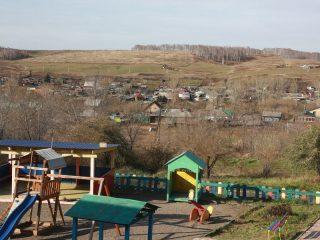 Новая детская площадка в Вознесенке