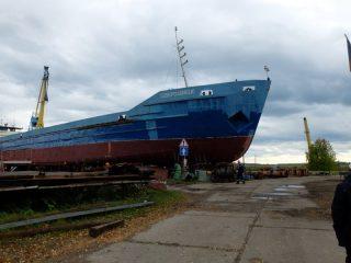 Завершается ремонт сухогруза «Северодонецк»