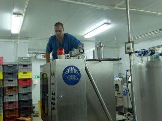 Настройка оборудования на молокозаводе «Марусино детство»