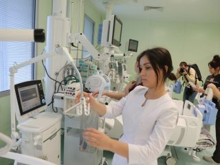 Медики проходили обучение в немецких клиниках.