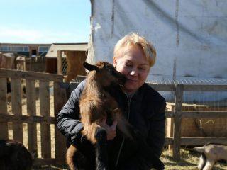 Фермер Юлия ПРЕСКЕНЕНЕ – яркий пример горожанина, сознательно выбравшего сельскую жизнь