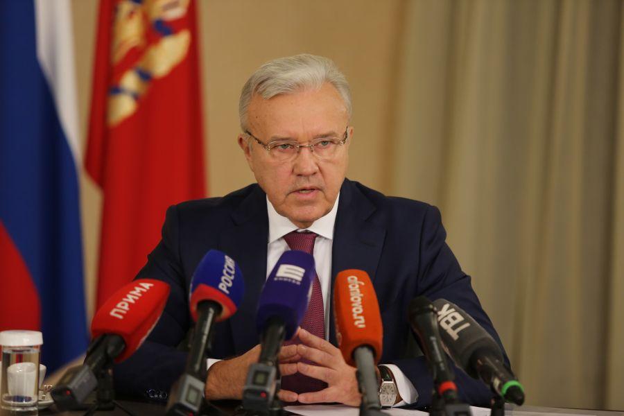 >Губернатор  края Александр Усс: «Режим самоизоляции продлится до «особого распоряжения»