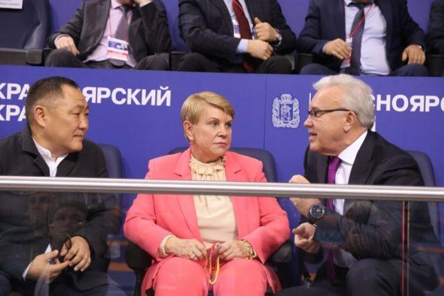 Церемония открытия Ярыгинского турнира. Красноярск. 24 января 2020 года