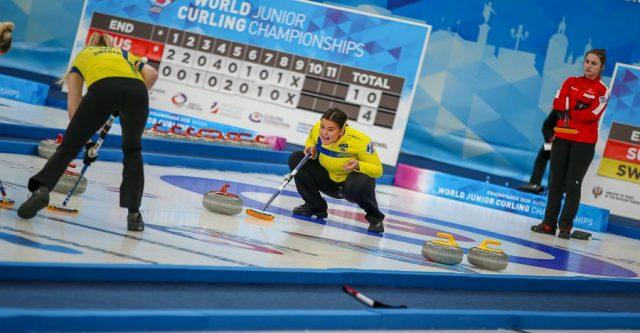 Открытие первенства мира по керлингу и круговой этап соревнований. Красноярск, 15 февраля 2020 года
