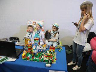 Ученики начальных классов привезли на чемпионат более 30 уникальных идей