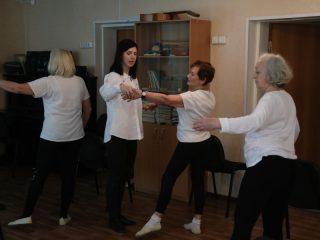 Необычную студию боди-балета открыли при комплексном центре социального обслуживания Центрального района Красноярска