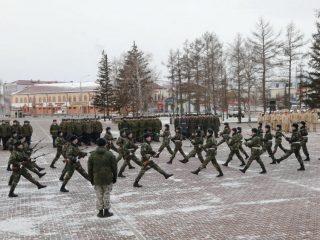 Сегодня, 9 марта, на Мемориале Победы прошла военно-патриотическая акция под девизом «Все для фронта, все для победы»