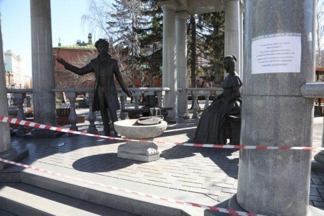 Прогулки в Красноярске под запретом: сидите дома. 6 апреля 2020 года