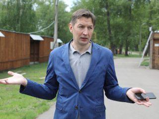 Директор Центра развития социальных проектов Евгений Пьянков рассказал об организации велопроката в Татышев-парке