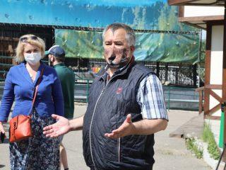 Директор Андрей Горбань рассказывает об огромных планах развития парка.