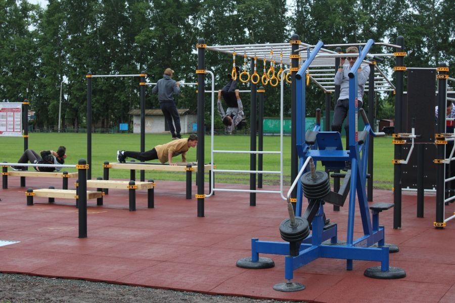 Шесть площадок ГТО получит Красноярский край вдобавок к 26 построенным