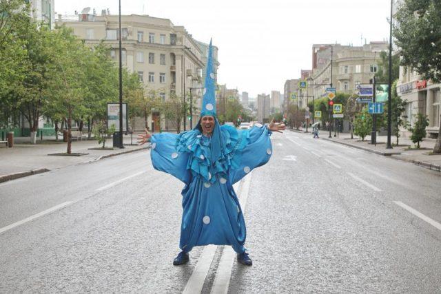 Детский карнавал. Красноярск. 1 июня 2020 года