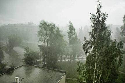 В Красноярск пришли дожди