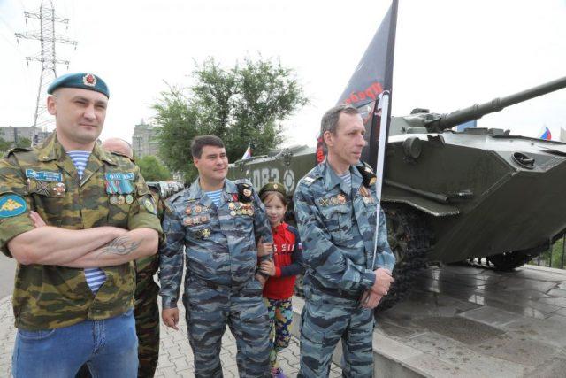 День ВДВ. Красноярск. 2 августа 2020 года
